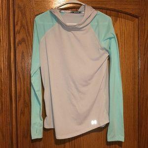 Hooded, Long Sleeve, Under Armour Shirt!